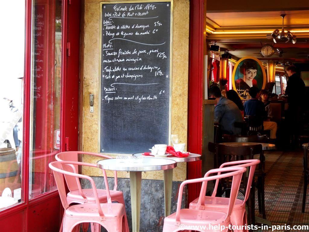 Café des deux Moulins Paris
