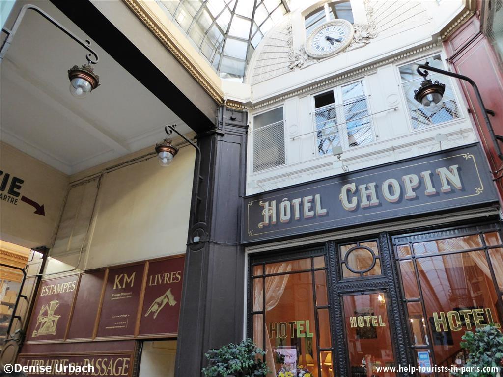 hotel chopin touristen in paris. Black Bedroom Furniture Sets. Home Design Ideas