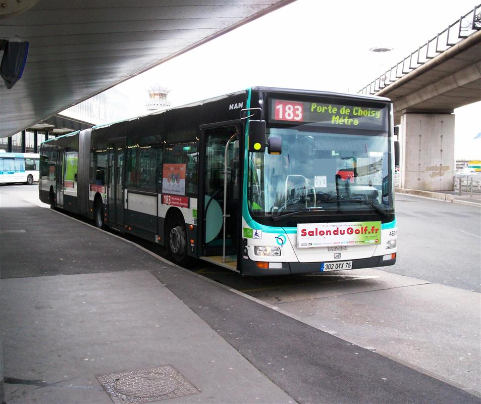 Flughafentransfer in die pariser innenstadt touristen in paris - Bus 183 porte de choisy horaire ...