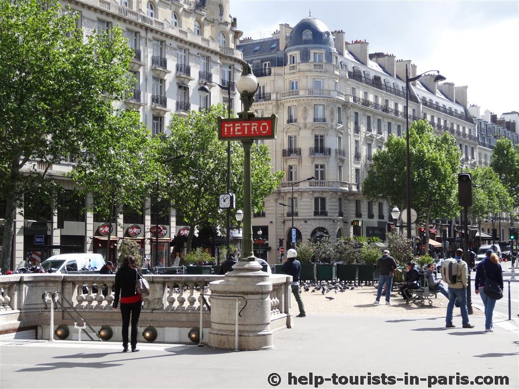 die metro in paris einfach erkl rt touristen in paris. Black Bedroom Furniture Sets. Home Design Ideas