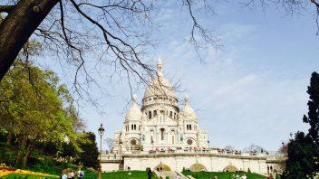 Ein Besuch in Sacré Coeur in Paris