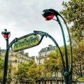 Metroeingang Paris