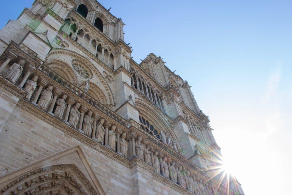Notre Dame Paris Ansicht