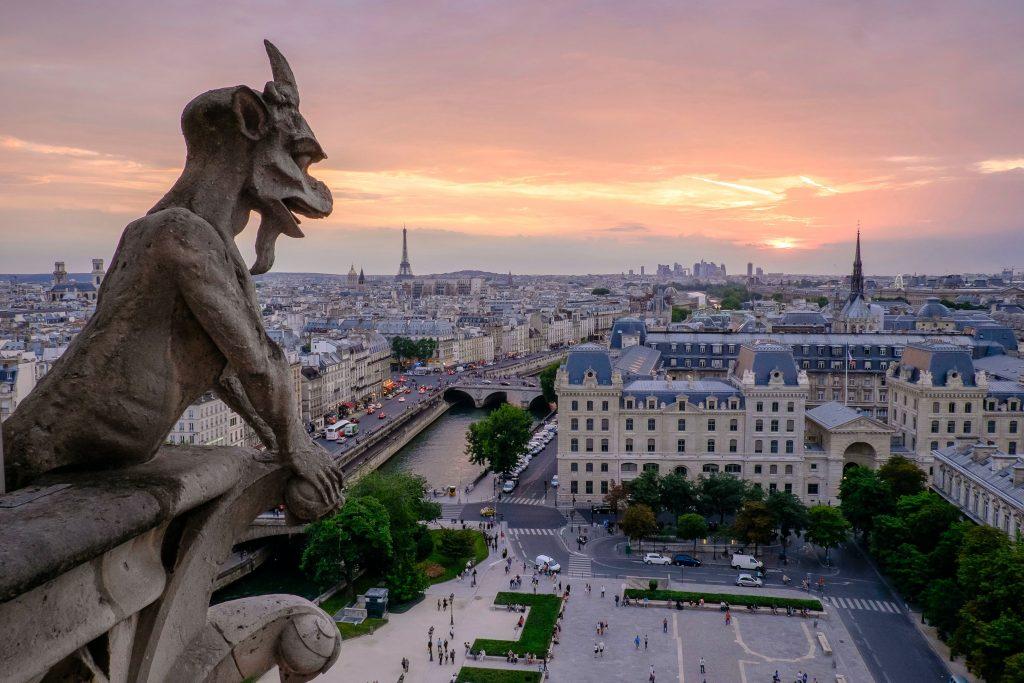 Notre Dame Paris Ausblick