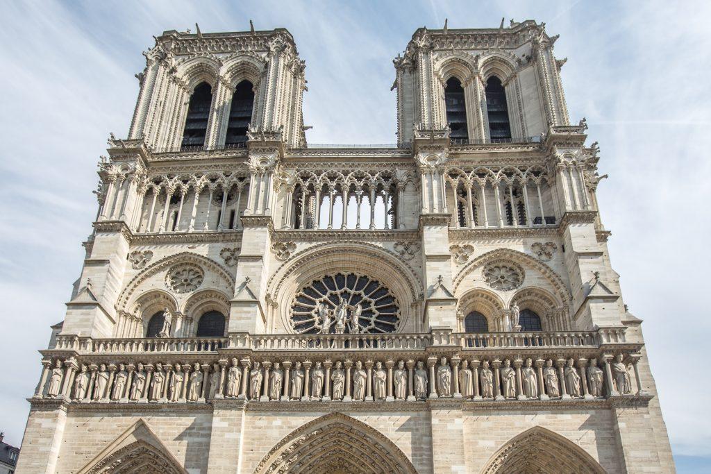Notre Dame Paris von vorne