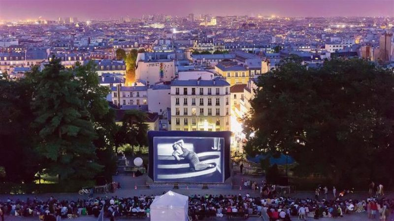 Sommer-Tipp: Open Air Kinofestivals in Paris