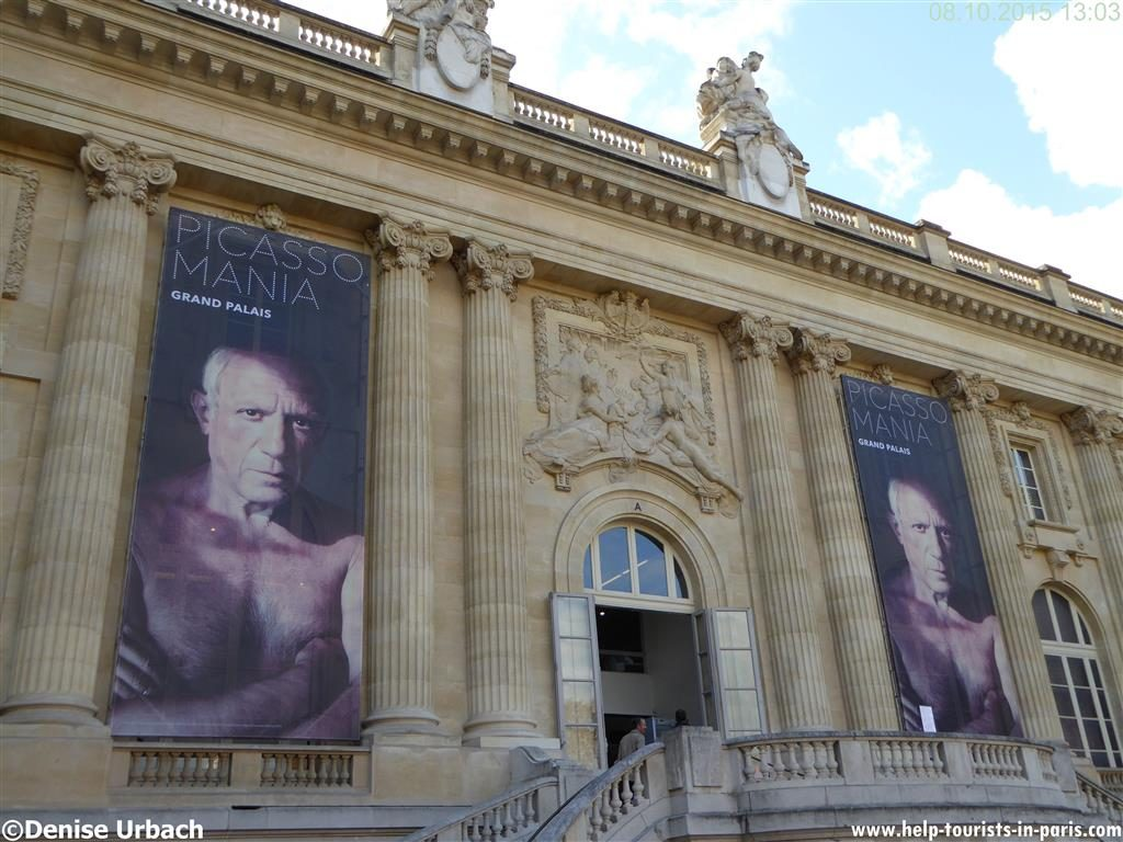Picasso im Grand Palais in Paris