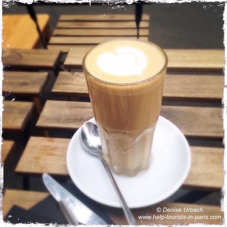 Kaffee genießen Paris