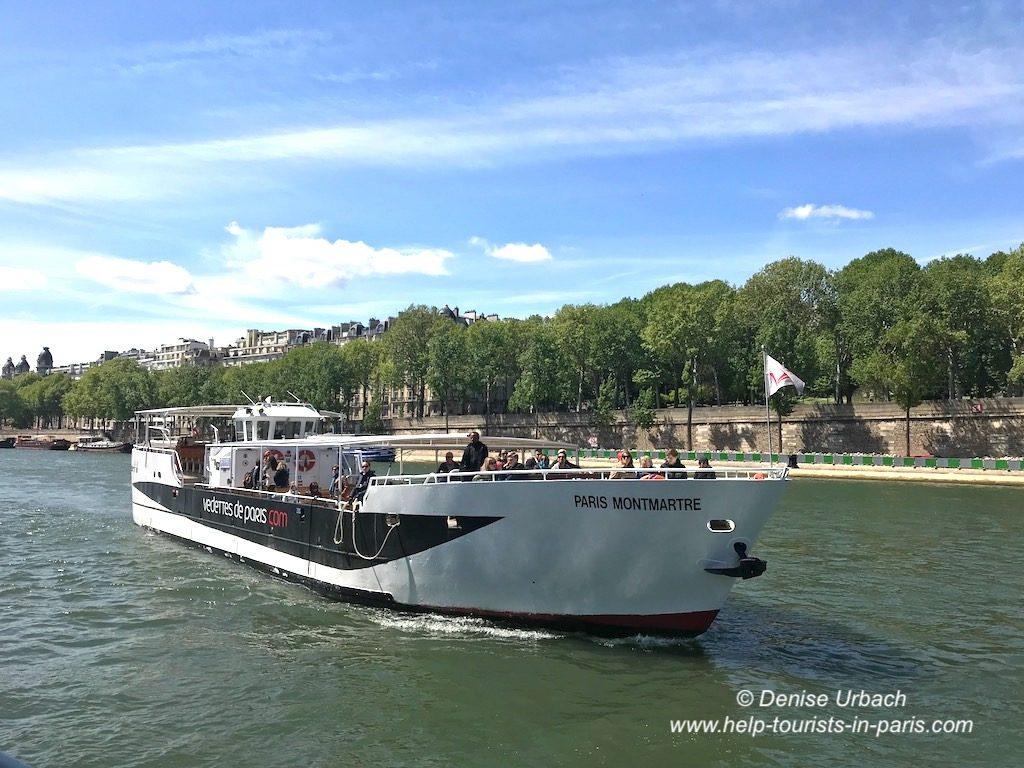 Bootsfahrt Paris Vedettes de Paris