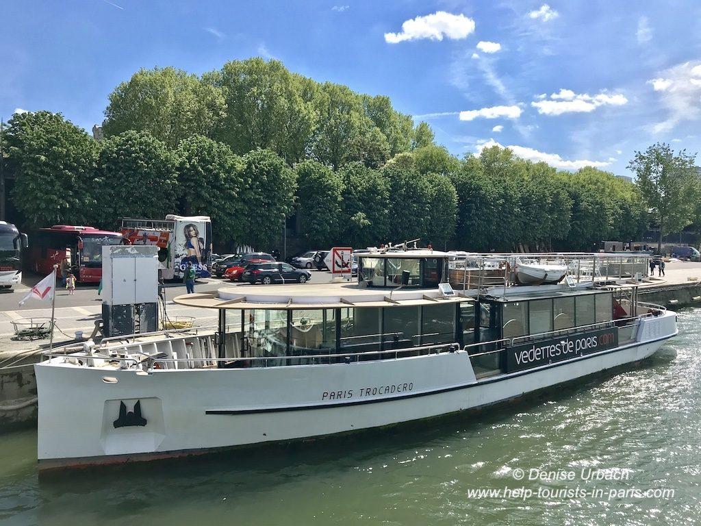 Bootsfahrt Vedettes de Paris