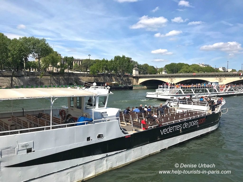 Bootstour Paris Vedettes de Paris