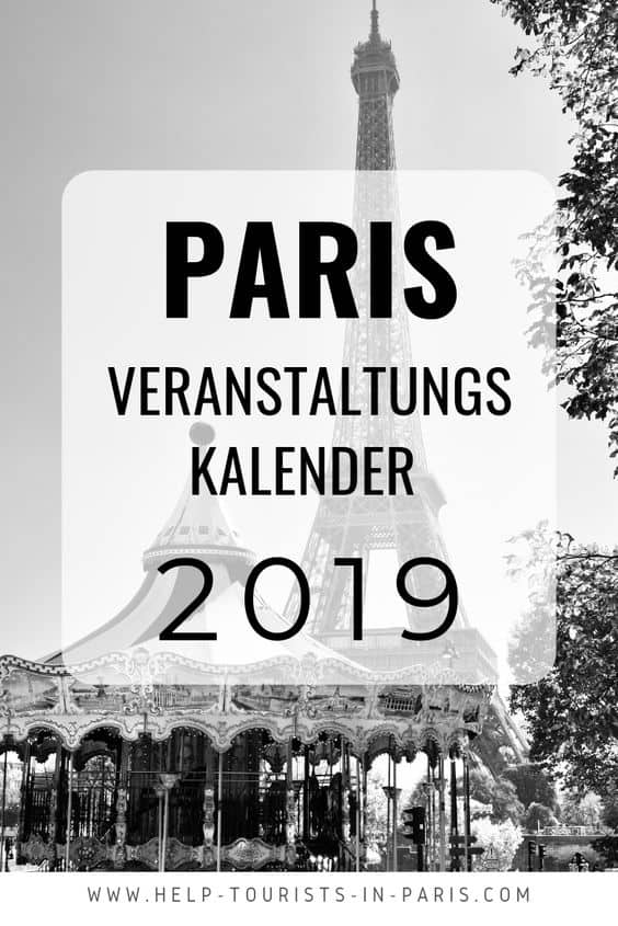 Wie Fällt Weihnachten 2019.Veranstaltungen Paris 2019 Alle Großevents Im überblick