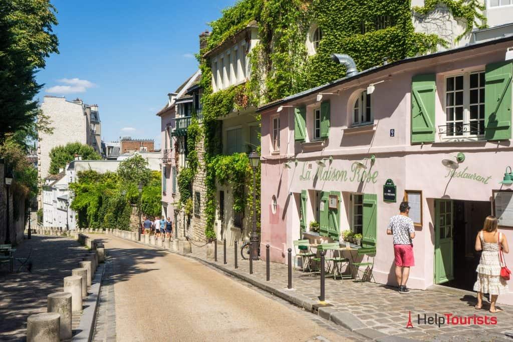 PARIS_Montmartre_La-maison-rose_l