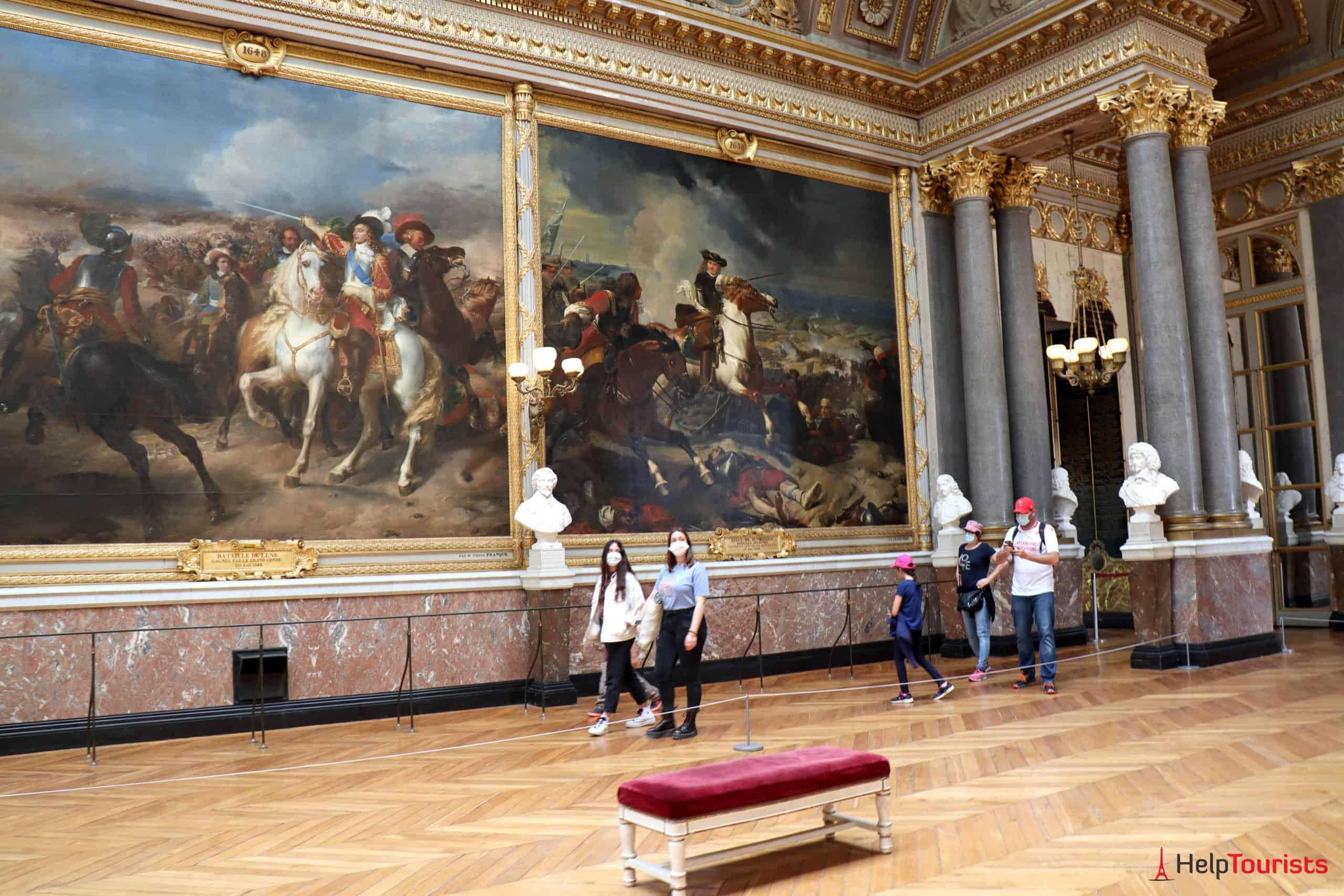 Paris Versailles La Galerie des Batailles 13