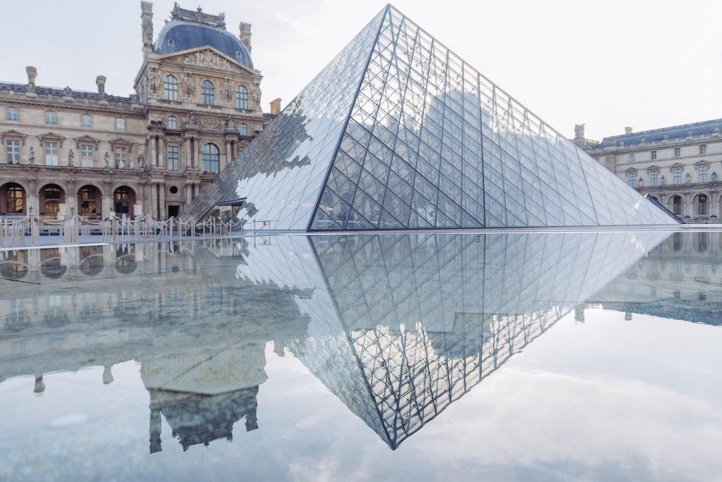 Glaspyramide Louvre