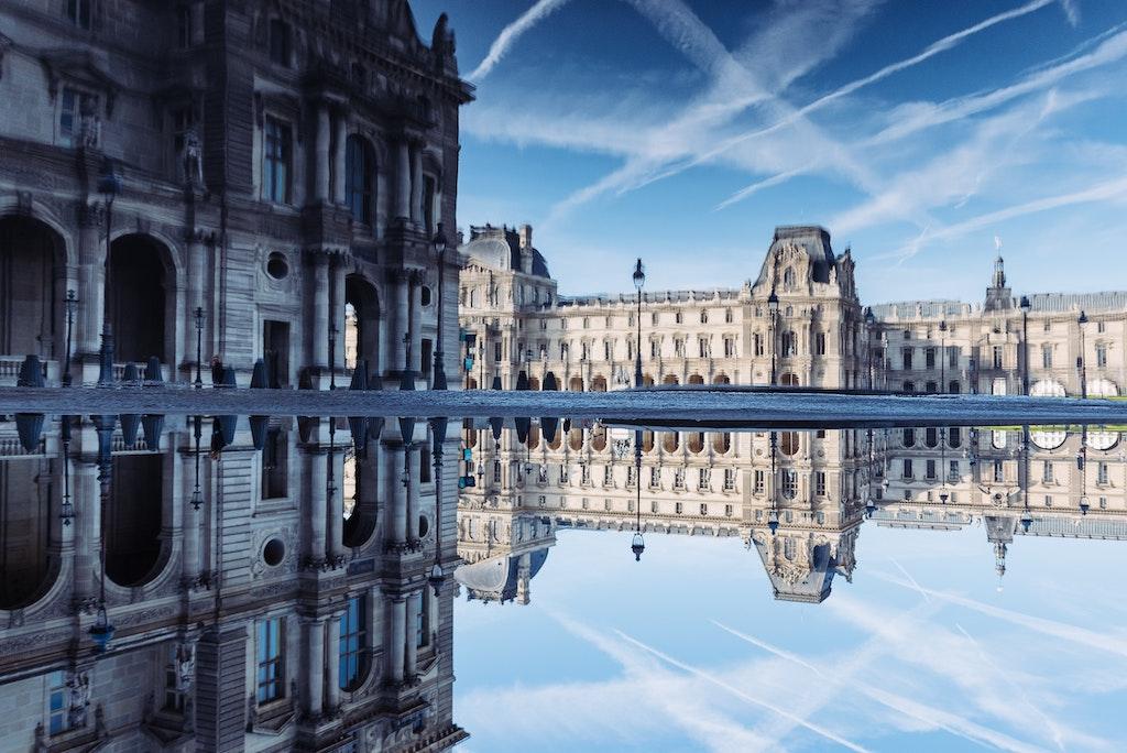 Louvre aussen