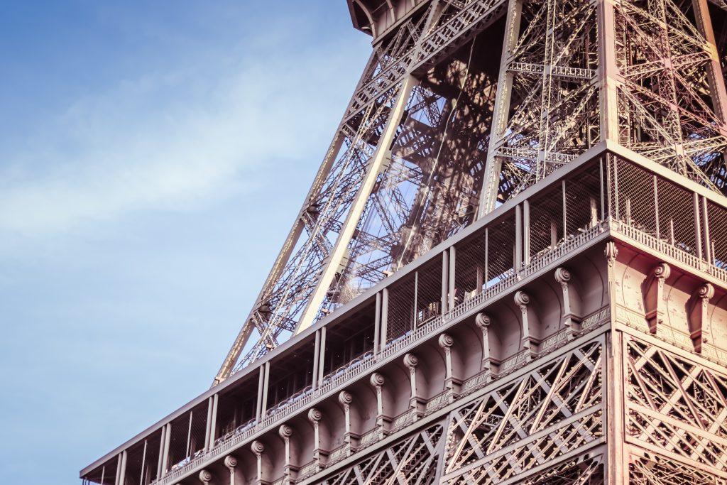 Nahaufnahme Eiffelturm